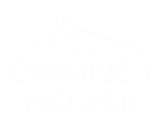 The Chimney House White Logo